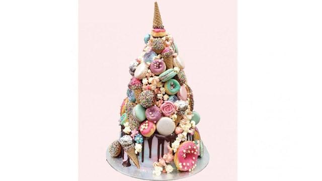 Jednorog torta koju svi mladenci žele u svojoj bajci